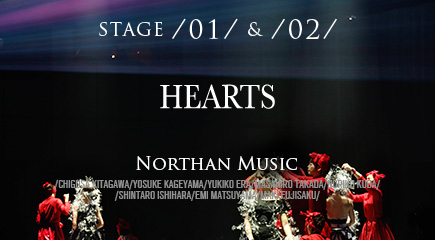 HEARTS STAGE /01/ & /02/