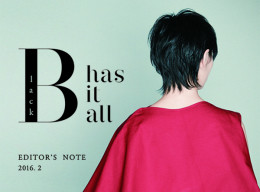 「Black has it all」
